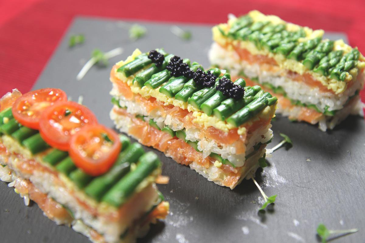 Sushi kiểu phương Tây