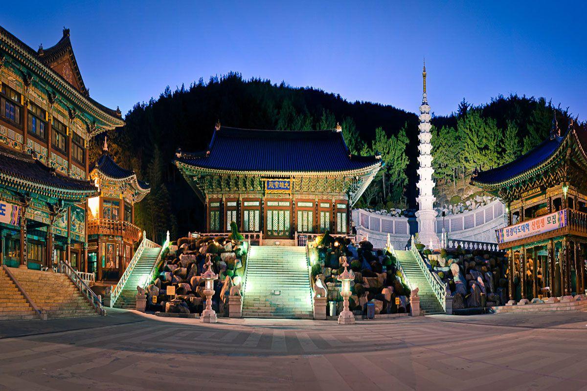Ngôi chùa Sankwang