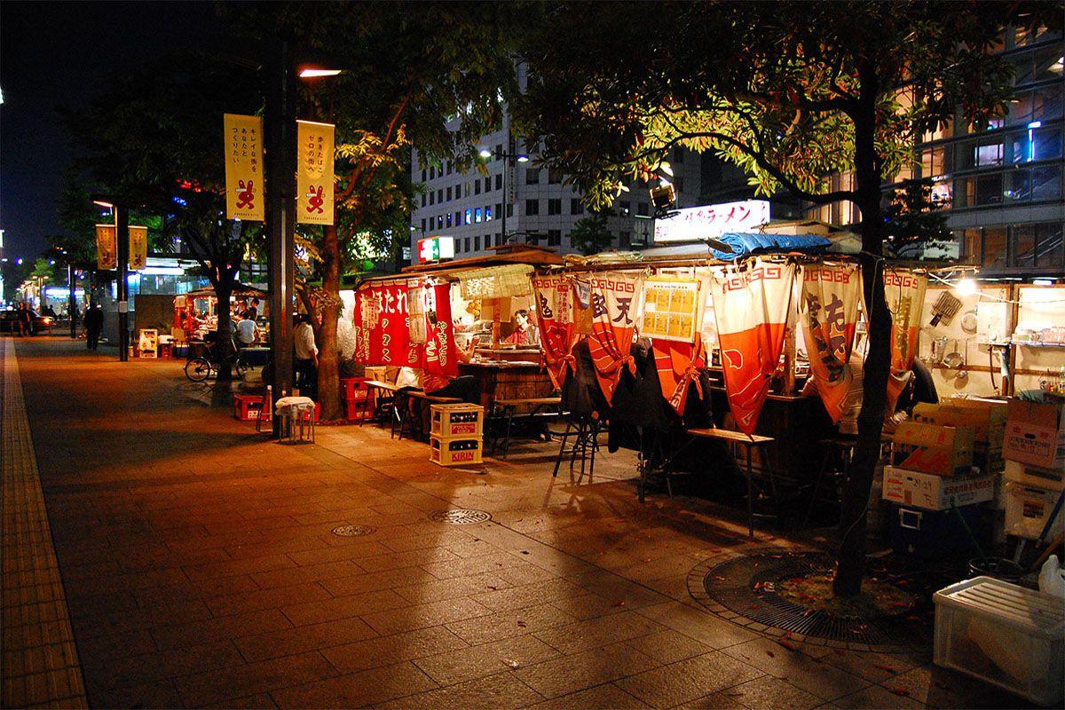 Quầy thức ăn Yatai (Fukuoka)