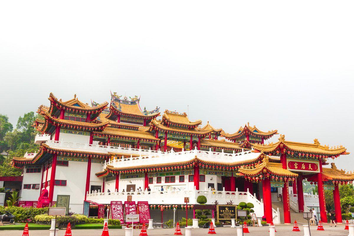 Đi thăm đền Đền Thean Hou