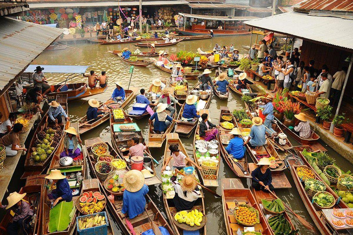 Chợ nổi, nét văn hóa đặc trưng vùng sông nước