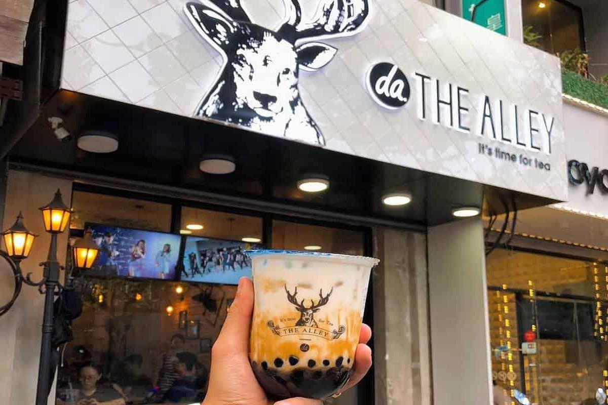 The Alley - Trà sữa đường đen