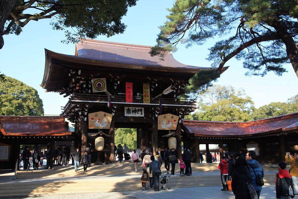Khám phá đền thờ Meiji
