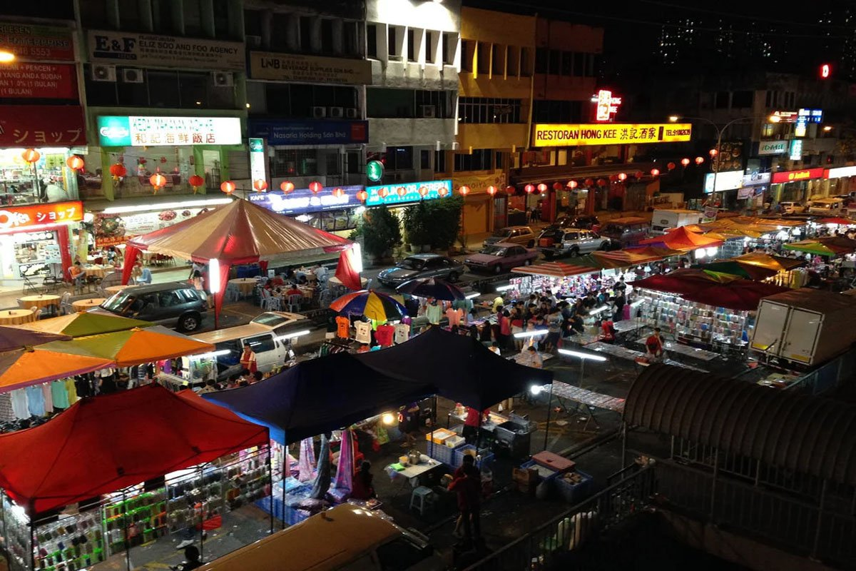 Chợ đêm Ulu Melaka tại Langkawi