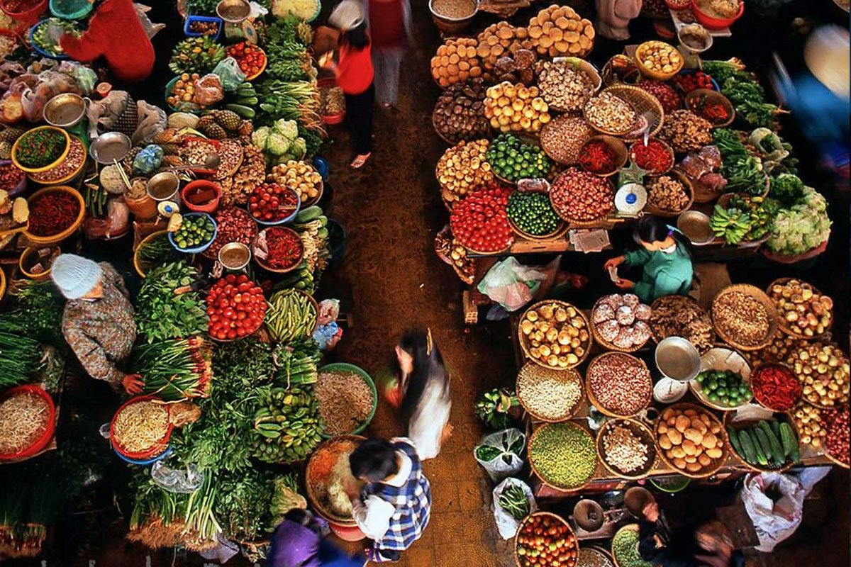 Đặc sản chợ Đà Lạt