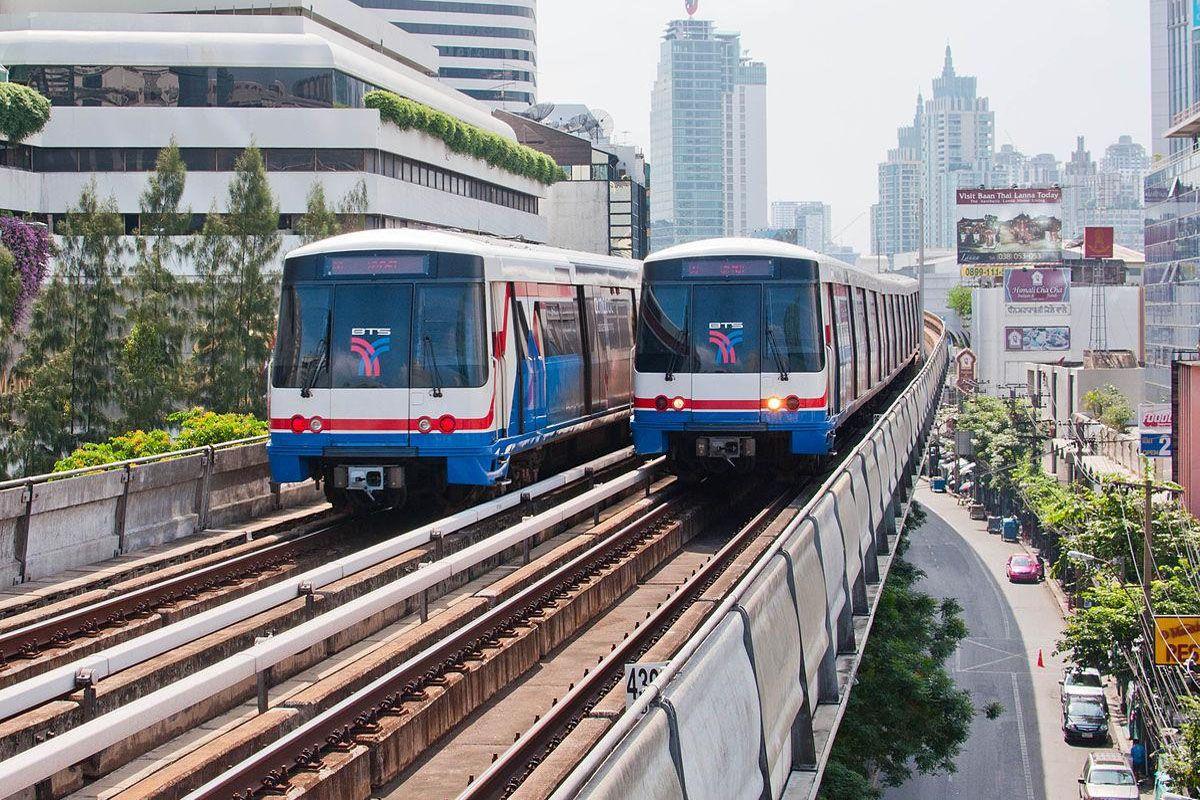 Đi tàu điện BTS (Skytrain)