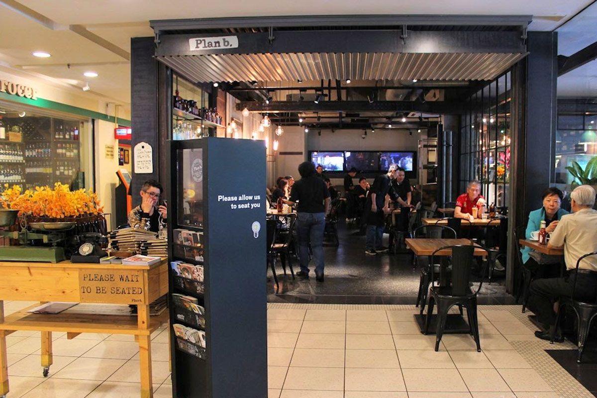 Plan B Cafe at Bangsar Village