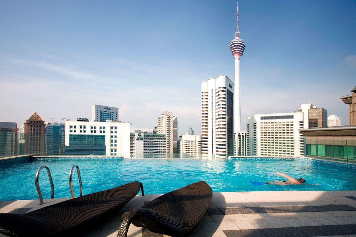 Bể bơi Capri của khách sạn Fraser Kuala Lumpur