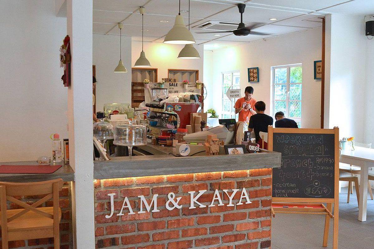 Jam & Kaya Cafe