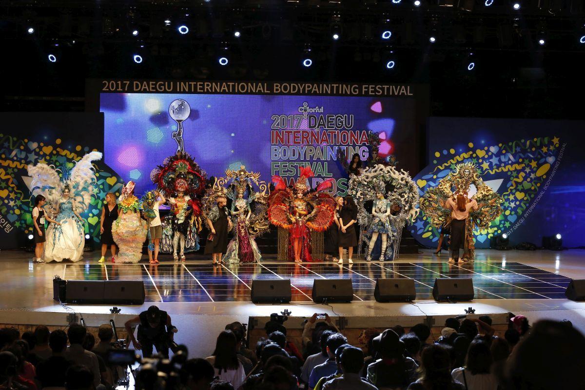 Lễ hội Bodypainting Quốc tế Daegu (DIBF)