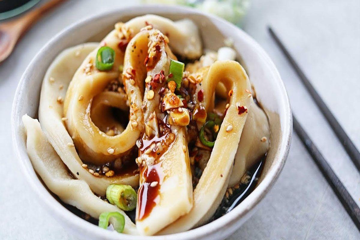 Mì Tianshui mian - mì nước có vị ngọt