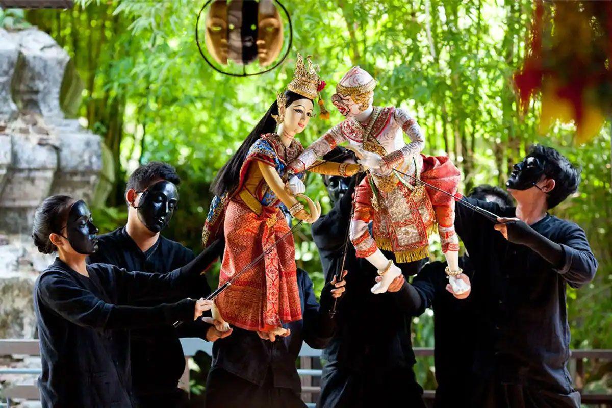 Thưởng thức nghệ thuật múa rối ở Bangkok