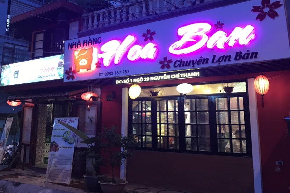 Nhà hàng Hoa Ban