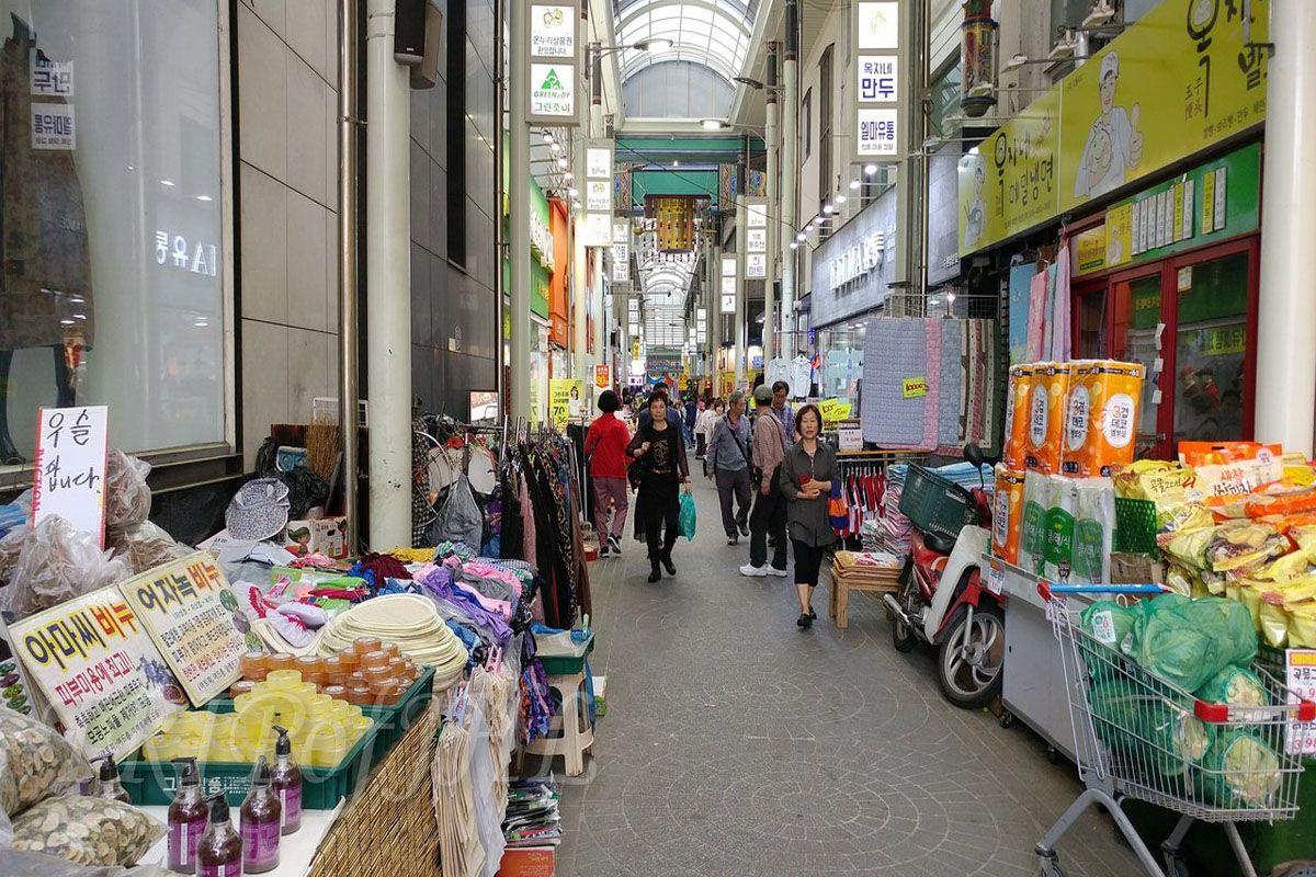 Bossam tại chợ Nammun