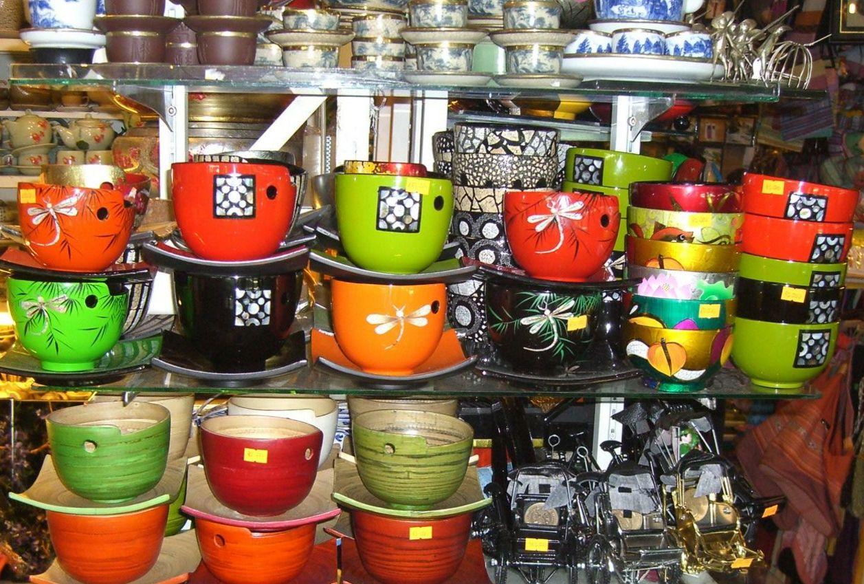 Đồ thủ công mỹ nghệ chợ Bến Thành