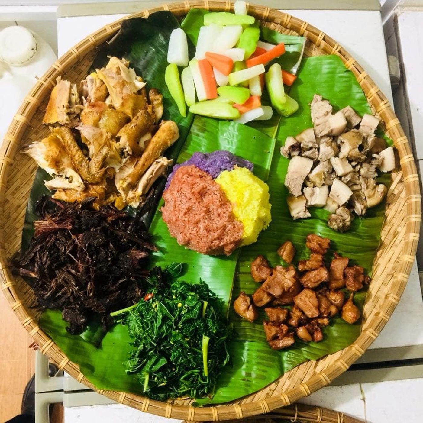 Khách sạn Sao Xanh Mộc Châu còn có nhà hàng phục vụ các món ăn Việt Nam
