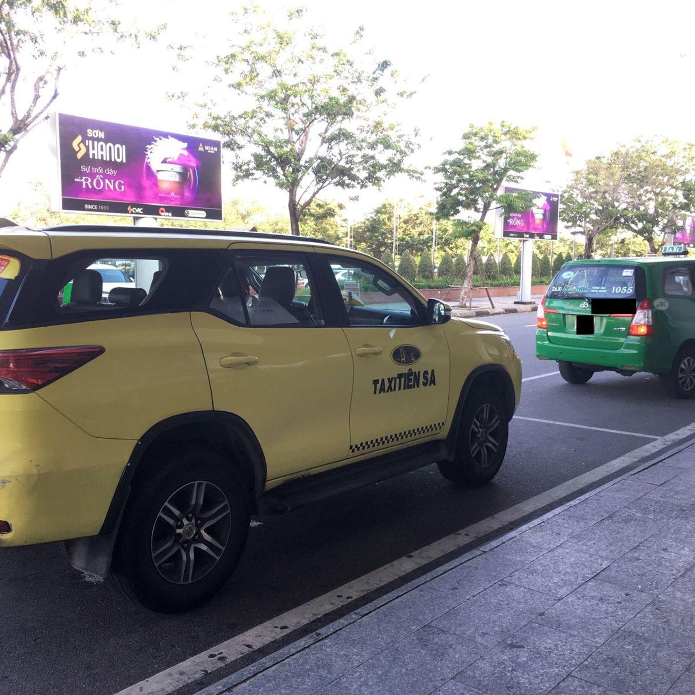 Đi taxi đến Chu Lai