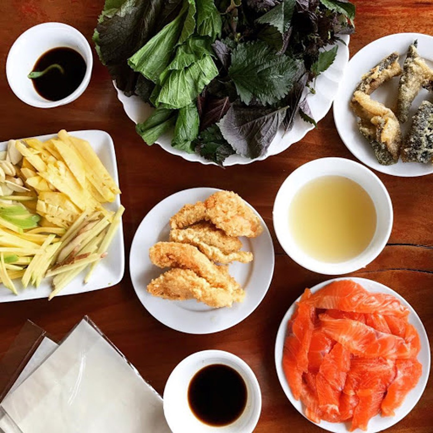 Các món ăn Quán Xuân Bắc 181