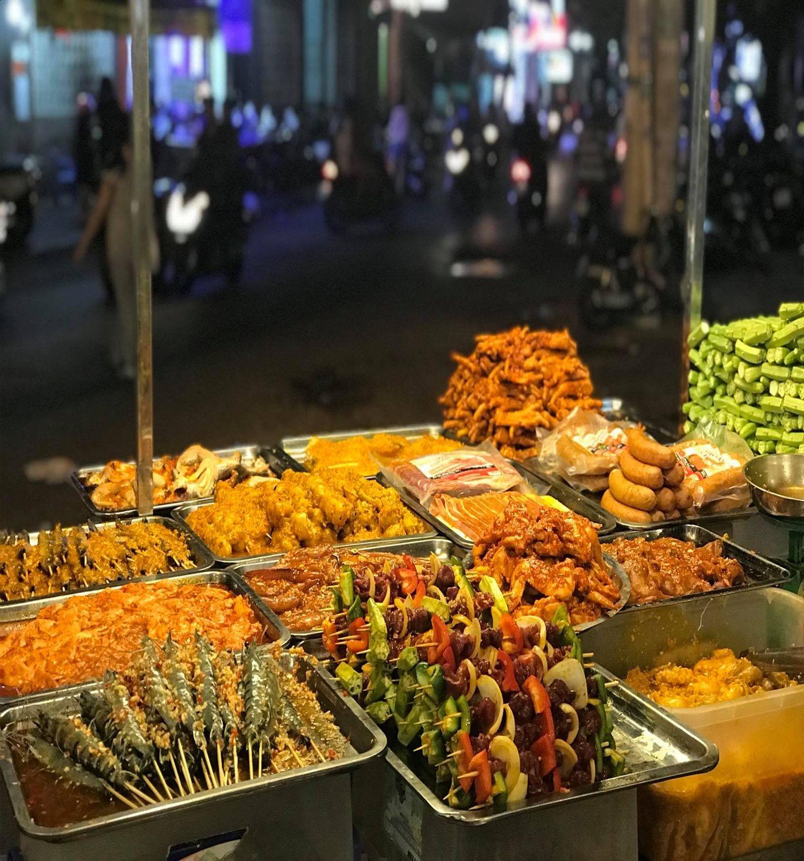 Nhiều món ngon tại quán Út Lang