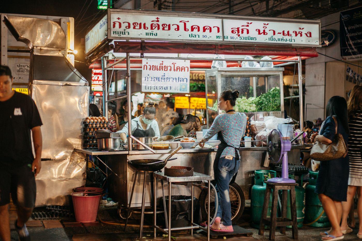 Khu chợ Chang Puak