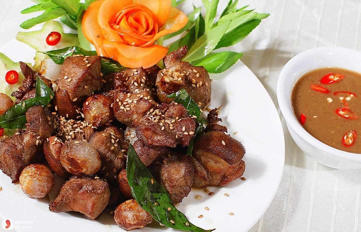 Thịt dê nướng