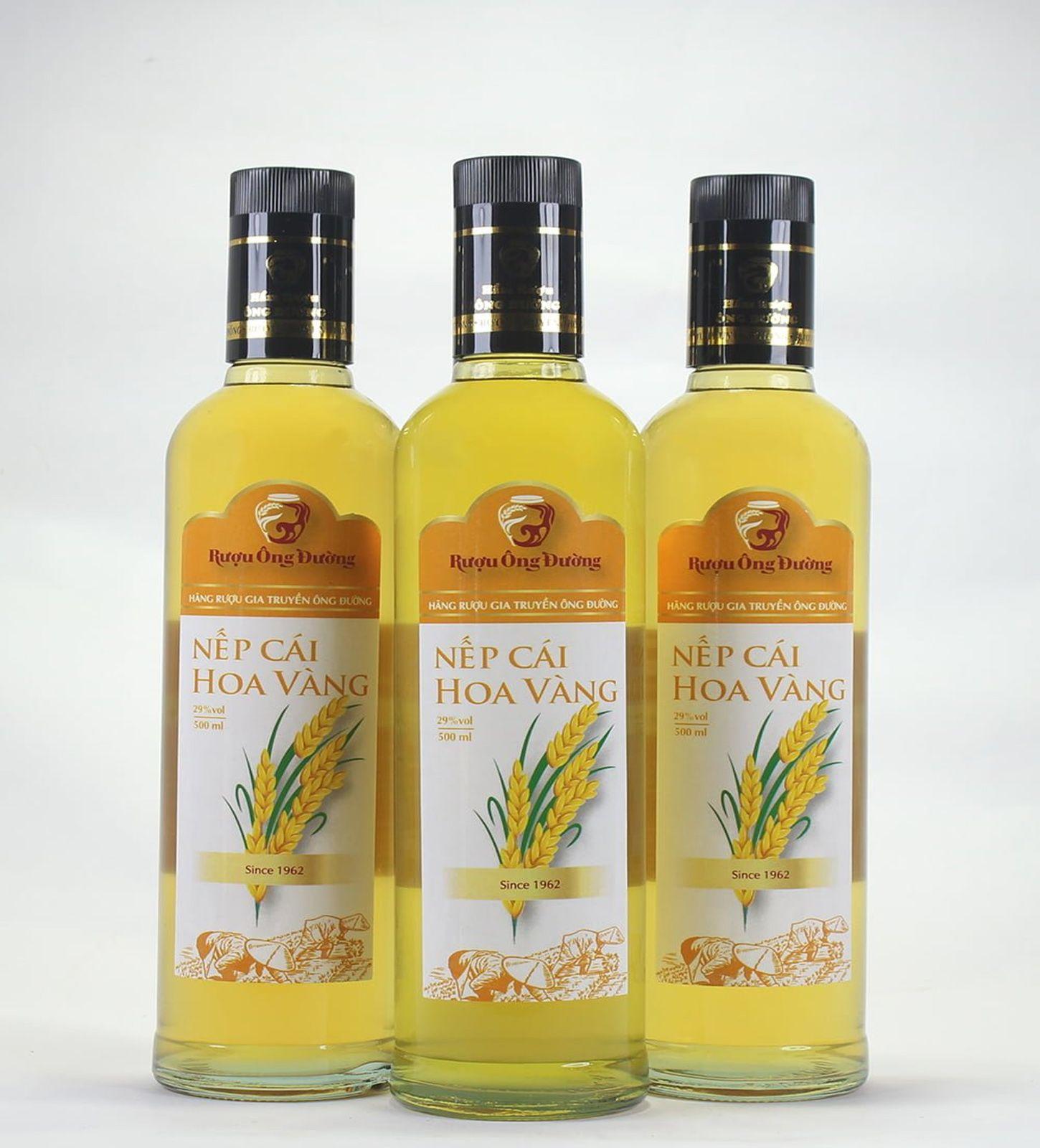 Rượu nếp cái hoa vàng Hải Phòng