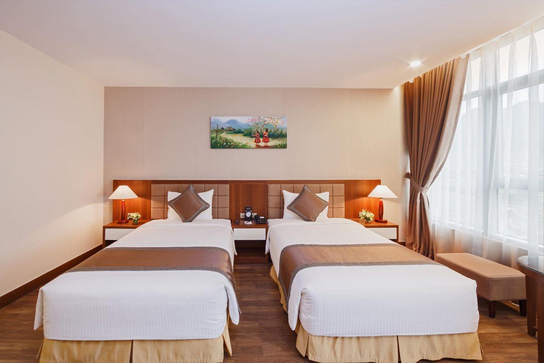 Phòng ngủ Khách sạn Mường Thanh Mộc Châu
