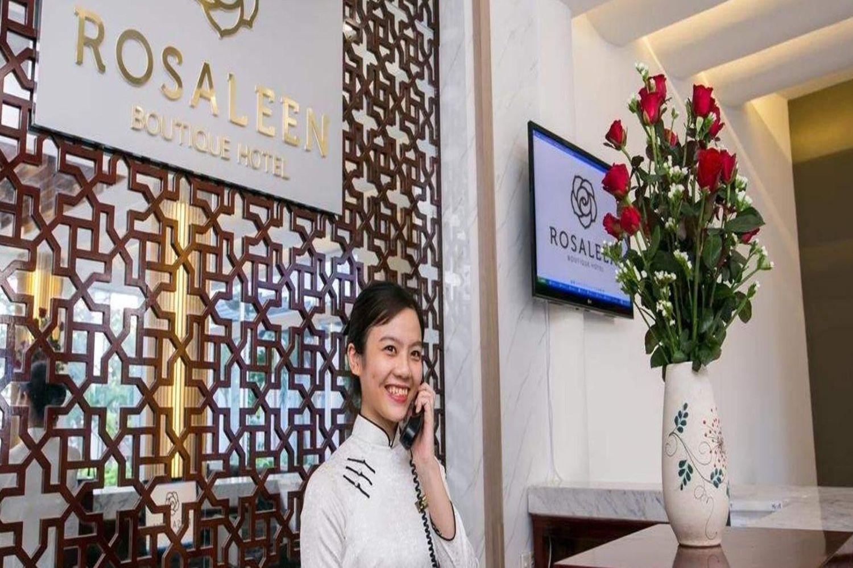 Rosaleen Boutique Hotel có dịch vụ lễ tân hoạt động 24/24