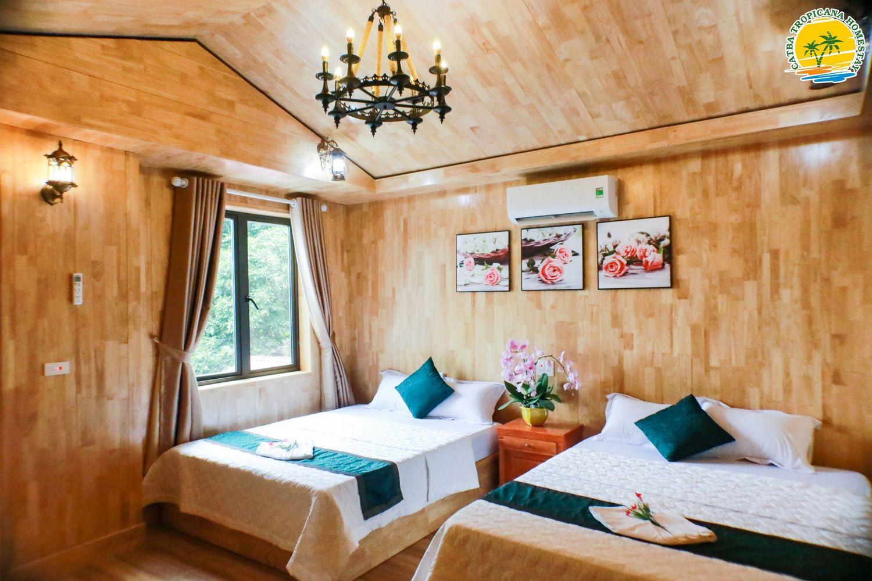 Phòng ngủ ở Catba Tropicana Homestay