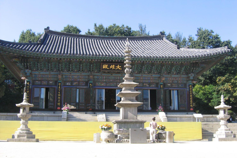 Sống chậm tại Đền Bongeunsa