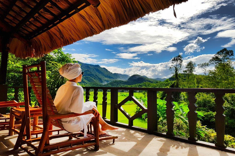 Cảnh đẹp nhìn từ Mai Châu Ecolodge