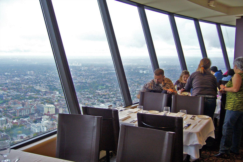View từ The Meridian Revolving Restaurant