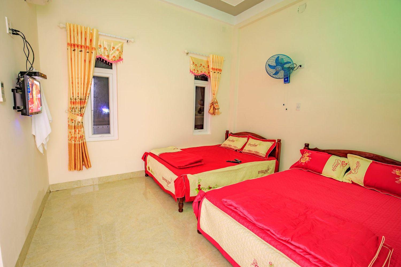 Phòng ngủ Hoang Thong Motel