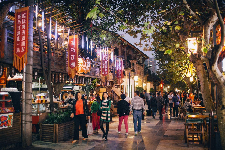 Con phố Kuanzhai - Ngõ Rộng Ngõ Hẹp
