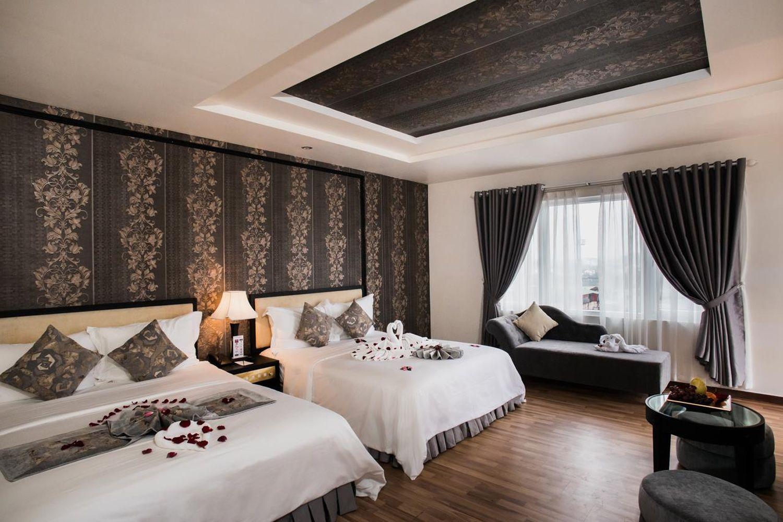 Rosaleen Boutique Hotel được đầu tư về hệ thống ánh sáng rất hiện đại