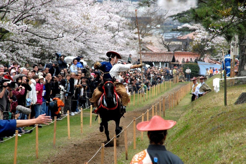 Lễ hội Yabusame – Lễ hội cưỡi ngựa bắn cung