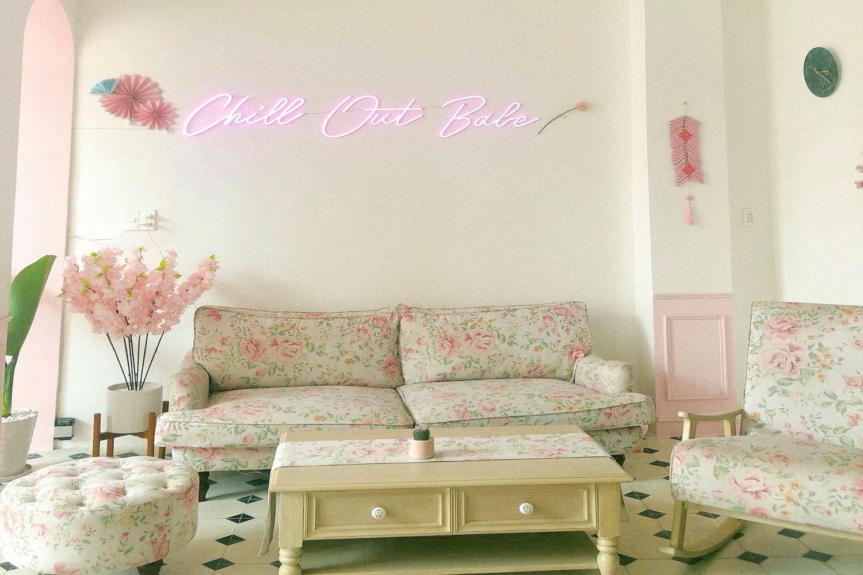 Phòng khách The Chill Homestay