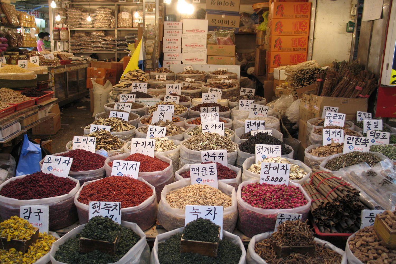 Chợ buôn thảo dược Yangnyeong