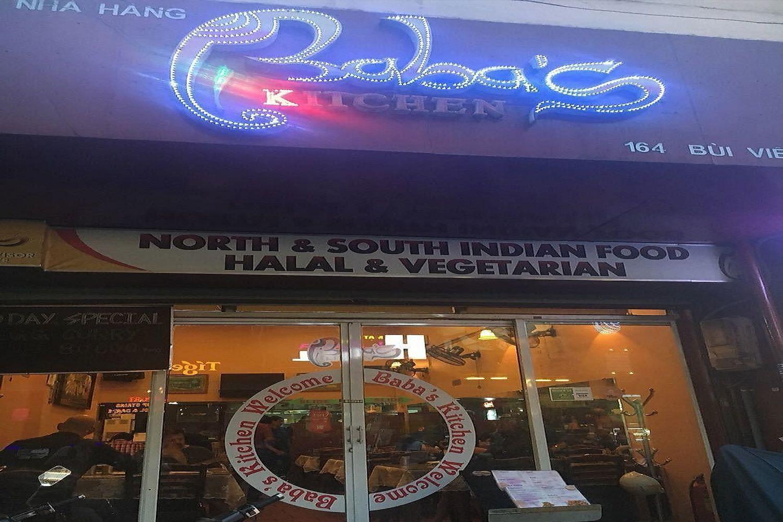 Quán Baba's Kitchen trên phố Bùi Viện