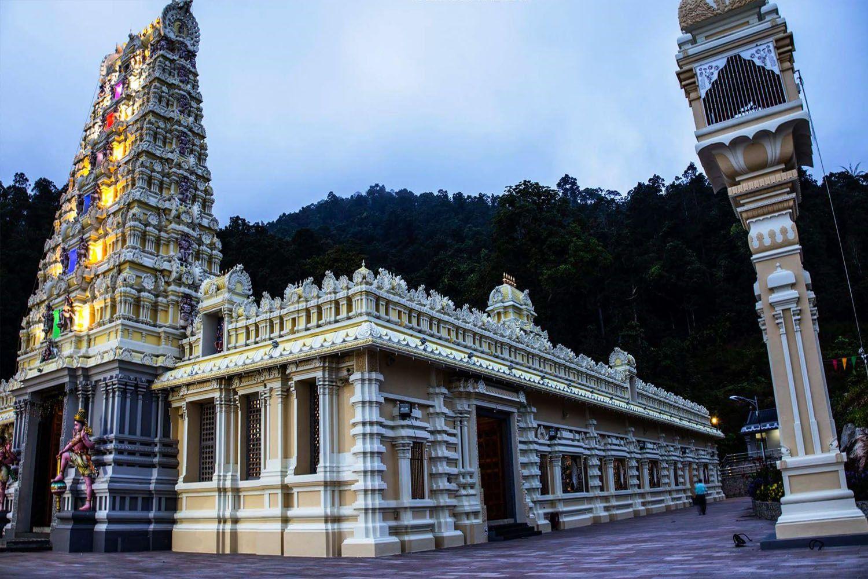 Đền Thác nước (đền Arulmigu Balathandayuthapani)