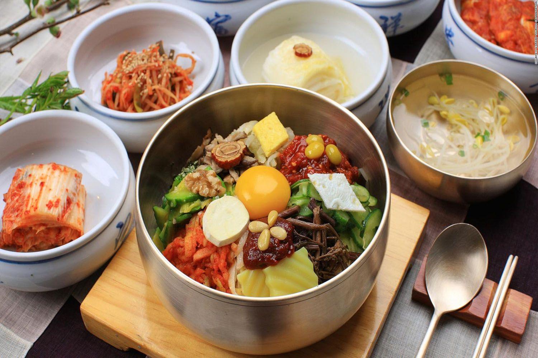 Trải nghiệm các món ăn truyền thống của Hàn Quốc