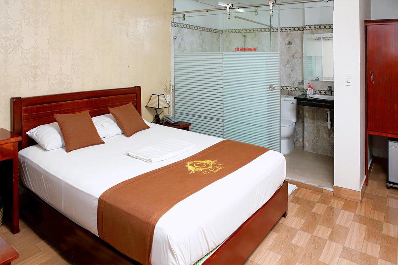 Phòng ngủ của Khách sạn Cozi