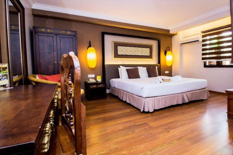 Phòng ngủ tại Hotel Puri Melaka