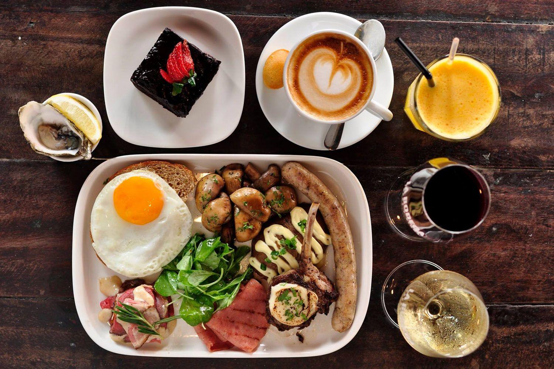 Bữa sáng tại Kuala Lumpur
