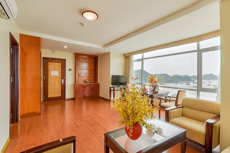 Phòng ốc sang trọng của Sea Pearl Cat Ba Hotel