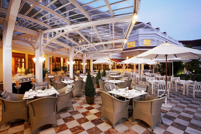 Railway Restaurant at Centara grand Beach