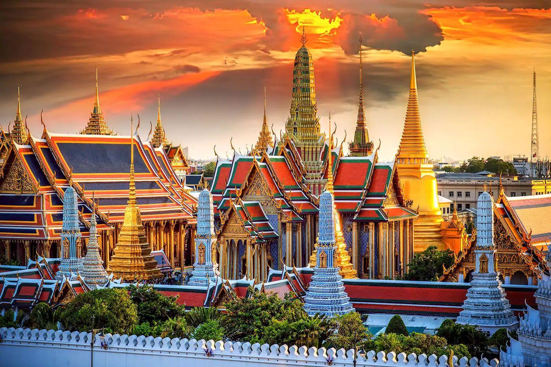 Tham quan cung điện hoàng gia Thái Lan