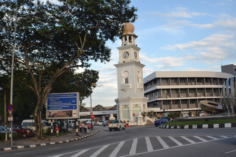 Tháp đồng hồ tại tòa toà nhà King Edward George Town, Penang