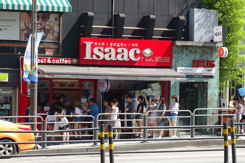 Nhà hàng Isaac Toast