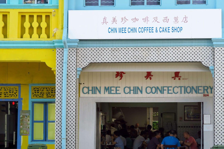 Thưởng thức bữa sáng tại Chin Mee Chin Confectionery
